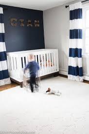 Navy And White Striped Curtains by Best 25 Navy Blue Nursery Ideas On Pinterest Navy Nursery Star