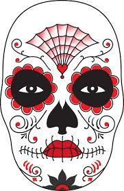 Halloween Half Mask Ideas by Best 25 Sugar Skull Face Paint Ideas On Pinterest Sugar Skull