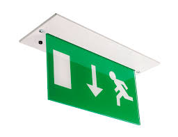 peaceably led together with led exit signs nora lighting