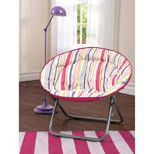 Oversized Saucer Chair Zebra Print by Fun Cozy Chairs For Kids Teens And Beyond