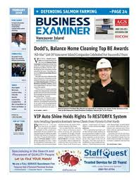 Business Examiner Vancouver Island February 2018 by Business