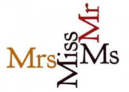 The Term Mrs Ms And Miss Are All Used As Honorific Titles For Women In English However They Not Same Differently Different