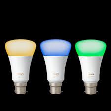 philips hue white and colour smart light bulb starter kit b22