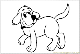 Clifford 001 Coloring Page
