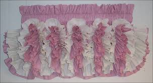 Pink Ruffle Curtains Uk by Living Room Magnificent Domestications Curtains Ruffled Lace