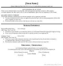 Cover Letter For Lvn Resume Template Resumes Resume Cover Letter