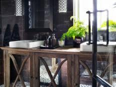 Bathroom Vanity And Tower Set by 18 Savvy Bathroom Vanity Storage Ideas Hgtv