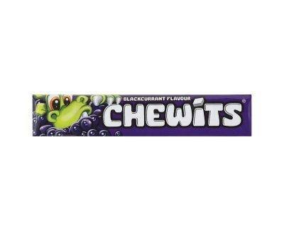 Chewits Candy - Blackcurrant, 30g