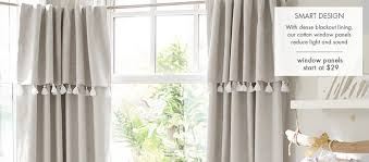 lined nursery curtains