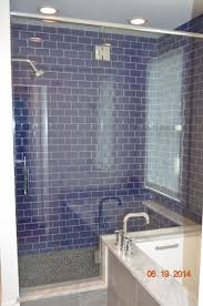 Walk In Shower With Cobalt Blue Glass Tiles. | Bathroom Renovations ... Bathroom Tub Shower Tile Ideas Floor Tiles Price Glass For Kitchen Alluring Bath And Pictures Image Master Designs Paint Amusing Block Diy Target Curtain 32 Best And For 2019 Sea Backsplash Mosaic Mirror Baby Gorgeous Accent Sink 37 Cute Futurist Architecture Beautiful 41 Inspirational Half Style Meaningful Use Home 30 Nice Of Modern Wall Design Trim Subway Wood Bathrooms Seamless Marble Surround