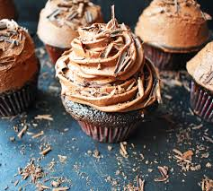Chocolate Bombshell Birthday Cupcakes Rich tender and fluffy chocolate cake topped with homemade