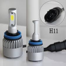 co light h7 led bulb headlight 2 5a 8000 lumen 6000k bulbs ls