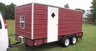 You Wont Believe This Spacious Utility Trailer Camper