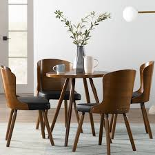 Modern Dining Furniture | AllModern Mcnamara Retro Modern Ding Table Eur Style Fniture The Right Design Price Jesup Outlet Sariden Chrome Finish Rectangular W4 Farmhouse Rustic Room Birch Lane Ali Chair Tables Chairs Keenerschultz Formal Vs Functional Living Rooms Fall From Favor But Get Hooker Wayfair Shades Of Grey Featured Rooms Inspiration Roanoke Va Reids Fine Furnishings