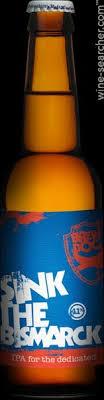nv brewdog brewery sink the bismarck ipa beer aberdeenshire