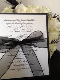 Elegant Black And White Wedding Invitations To Inspire You How Make Your Own Invitation Looks Interesting 17