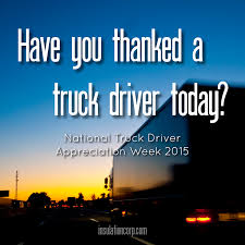 National Truck Driver Appreciation Week 2015 | Business | Pinterest September 11 17 Is National Truck Driver Appreciation Week When We 18 Fun Facts You Didnt Know About Trucks Truckers And Trucking Ntdaw Hashtag On Twitter Freight Amsters Holland Recognizes Professional Drivers Crete Carrier Cporation Landstar Scenes From 2016 We Holiday Graphics Pinterest Celebrating Eagle Tional Truck Driver Appreciation Week Prodriver Leasing 2017 Ptl Cporate