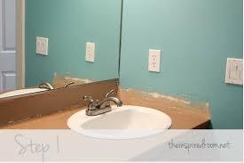 Tiles For Backsplash In Bathroom by Diy Faux Tin Ceiling Tile Back Splash The Inspired Room
