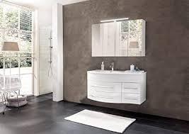 sam badmöbel dali 2tlg design badezimmer set weiß