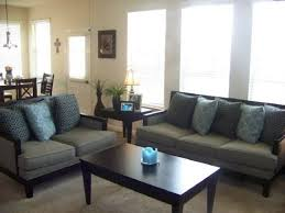 Taupe And Black Living Room Ideas by Download Brown And Blue Living Room Decorating Ideas Astana