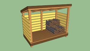 4x6 Wood Storage Shed by Firewood Storage Shed Plans Howtospecialist How To Build Step