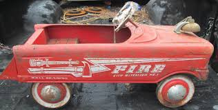 VINTAGE MURRAY PEDAL CAR FIRE TRUCK CITY BATTALION 1 | #1843790195 John Deere Pedal Car Fire Truck M15 Nashville 2015 Fall Auction Owls Head Transportation Museum Murray Rpainted Engine Sale Number 2722t Lot A Late 20th Century Buddy L Childs Fire Truck Pedal Car 34 Classic Kids Black Or Red Free Shipping My A Crished Childhood Toy Collectors Weekly Lifesize And Then Some General Hemmings Daily Baghera Toy Mee Ldon Antique Cars 1950 Vintage1960s Super Deluxe Hap Moore Antiques Auctions Retro Fighter Comet Sedan Replica Vintage