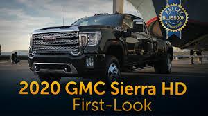 100 Blue Book On Trucks 2020 GMC Sierra Heavy Duty First Look