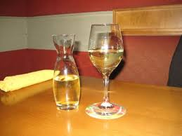 Racine Olive Garden Quartino of Cavit Pinot Grigio Picture of