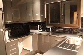 deco cuisine marron deco cuisine grise et beige idée de modèle de cuisine