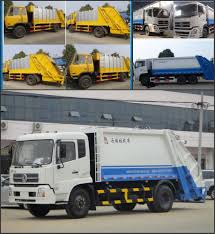 Cheap Price For Garbage Compactor Truck 4x2 Rubbish Compression ...