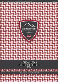 alpin rentals 4 seasons collection 2014 by asega media