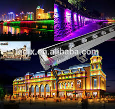 outdoor exterior building decorative dmx512 led wall washer light