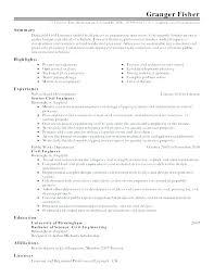 Assembler Resume Examples Job Description For Medical Assembly Samples
