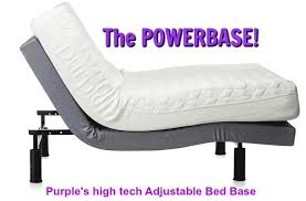 Purple Powerbase See a Demo of This High Tech Adjustable Bed