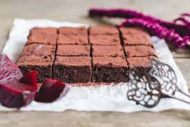 gesunde brownies mit roter bete madame dessert