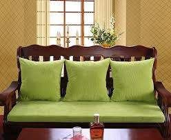 New Jade Plus Thick Wooden Chair Cushion Sofa Without Backrest Jacket Detachable Sides Available Cover