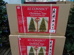 EZ Connect 9Ft Pre Lit LED Christmas Tree Costco 3