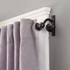 Decorative Double Traverse Curtain Rods by Amazing Double Curtain Rods Sets Curtain Rods Hardware The Home