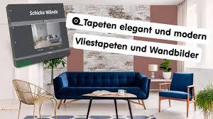 das tapetenbuch schicke wände vliestapeten weitere wandbilder tapeten und modern