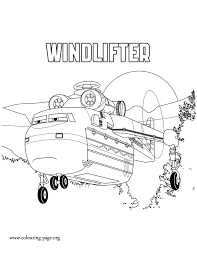 Windlifter A Heavy Lift Helicopter Coloring Page