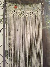 RISEON Macrame Wall Hanging Tapestry Macrame Door Hanging Room