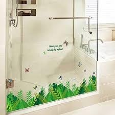 mznm grüne farngras bordüre für zuhause badezimmer küche