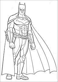 Batman Coloring Page 4980