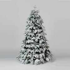 7ft Christmas Tree Uk by Cascade Premium Flocked Artificial Christmas Tree