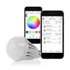 Flux Bluetooth LED Smart Bulb Wireless Multi Color Changing