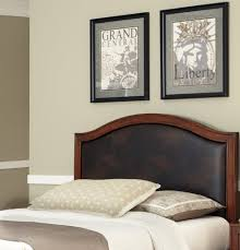 home styles duet king california king camelback headboard brown