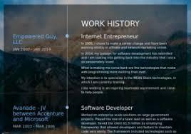 Small Business Owner Resume From Entrepreneur Samples Visualcv Database