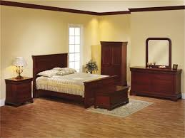 solid wood louis phillipe panel bed