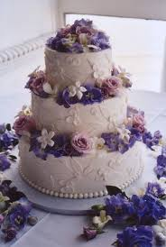 Photo Via Wedding Cake PurpleBeautiful