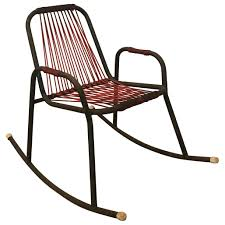 1960s Rocking Chair In Red Plastic Strings On Black Metal Frame Terese Woven Rope Rocking Chair Cape Craftsman 43 In Atete 2seat Metal Outdoor Bench Garden Vinteriorco Details About Cushioned Patio Glider Loveseat Rocker Seat Fredericia J16 Oak Soaped Nature Walker Edison Fniture Llc Modern Rattan Light Browngrey Texas Virco Zuma Arm Chairs 15h Mid Century Thonet Style Gold Black Palm Harbor Wicker Mrsapocom Paon Chair Bamboo By Houe